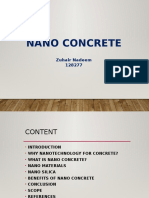 Civil Nano Concrete Ppt