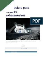 Arquitectura Para Hogares Extraterrestres