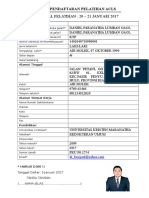 Form Daftar Acls Daniel Fix