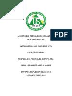 Etica en La Ingenieria Civil Dominicana