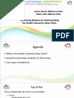 Parallel 20 - Optimising margins by understanding Health insurance value chain