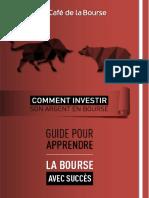 eBook Investir Argent en Bourse