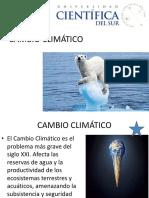 2016-II Cambio Climático