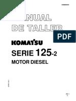 komatsu PC40 -MOTOR 125-2