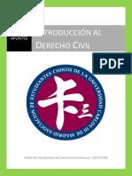 Introduccion al Derecho Civil Patrimonial