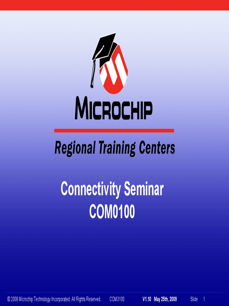 generic objectives for resumes%0A Seminario MicroChip       USB  Wifi  Ethernet y Zigbee   Pic  Microcontroller   Computer Network