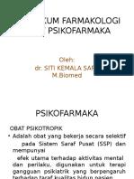 Praktikum Farmakologi Psikofarmaka Uisu 2015