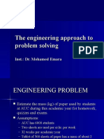 Lecture5-101-Engineering Approach to Problem Solving
