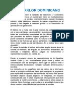 El Forklor Dominicano