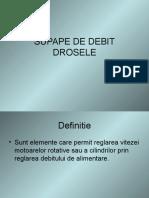 Supape Debit