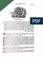 British Transport Commission Act 1958, s.19