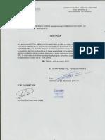 Certificado Grado Profesional
