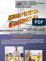 Historia de Las Estructuras