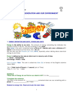 3Y TECH Unit 3 3 Energy 7-11