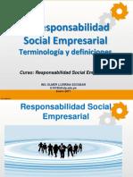 Definiciones responsabilidad social empresarial