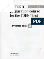 Oxford Preparation Course for the Toeic Test Practice Test 2 1406026678