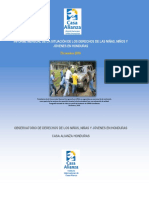 Informe Mensual Diciembre 2016_Casa Alianza de Honduras