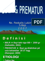 Bblr Dan Prematur