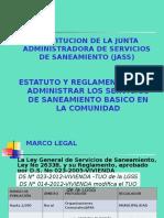 2 CONSTITUCION DE LA JASS - ESTATUTOS Y REGLAMENTOS.ppt