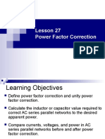 EE301 Lesson 27 Power Factor Correction