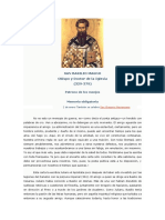 San Basilio Magno. Papa
