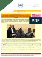 OTP Weekly Briefing - 15-21 June - Issue #42