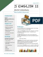honors s2 newsletter
