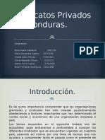 Sindicatos Privados de Honduras