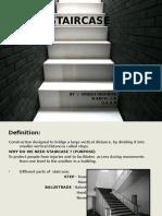 Bc Ppt on Stairs by Umesh Indoriya