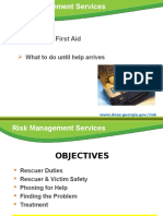 DOAS First Aid Review August 2012 (Final)