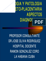Fisiologia y Patologia Feto Placentaria