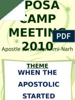Aposa Camp 2010