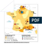 Urbanisation Et Metropolisation en France