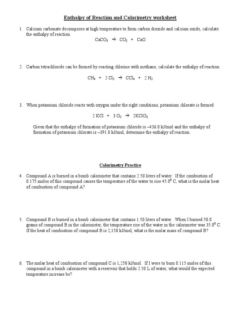 worksheet Enthalpy Worksheet 4 uther mokin ws solvation solubility