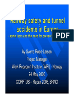 2006-0524 LASV Railway Safety and Tunnel Accidents in Europe Presentation