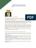Análisis Resumen de El Fin de Jorge Luis Borges