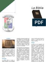 Brochure La Biblia