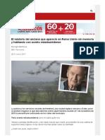 El Misterio Del Anciano Que Apareció en Reino Unido Sin Memoria y Hablando Con Acento Estadounidense - BBC Mundo