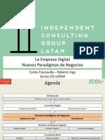 3icg Seminario Empresa Digital Nuevos Paradigmas v11 160210142407