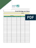 Excel Vorlage Für Restaurant Management
