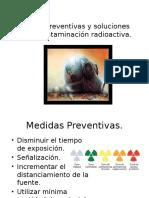 Medidas Preventivas y Soluciones Para La Contaminación Radioactiva