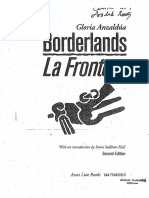 Gloria Anzaldua – Borderlands/La Frontera