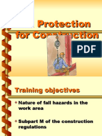 Fall Protection (Construction)