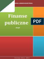 Iwona Lubimow-Burzyńska - Finanse Publiczne - Skrypt