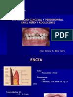 Gingivitis y Periodontitis en Niños y Adolecentes