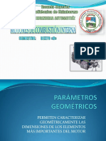 Parametros geometricos