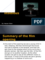 Analysis Opening Sequence of a Film