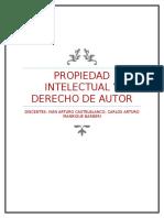 Propiedad Intelectual y Derecho de Autor