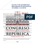 DECRETO LEGISLATIVO N°1259