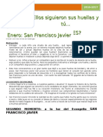 ENERO San Francisco Javier.